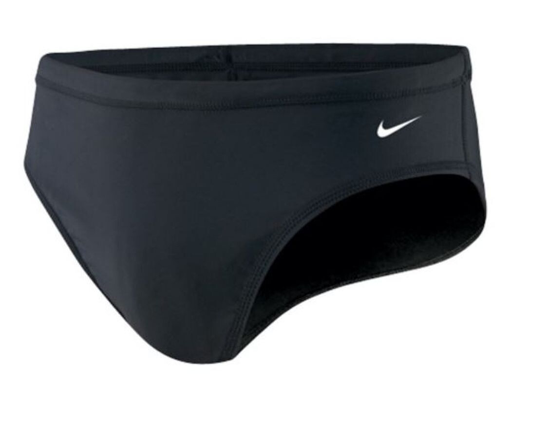 Nike Swim Poly Core Solid Slip Uomo, black